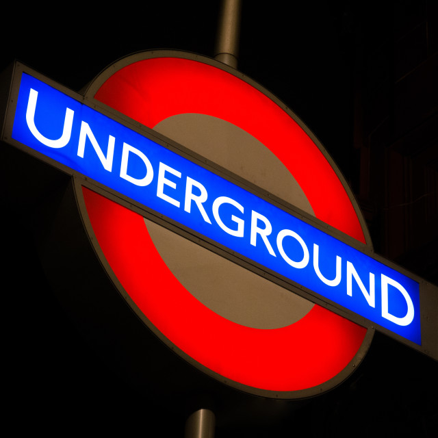 """Going Underground"" stock image"