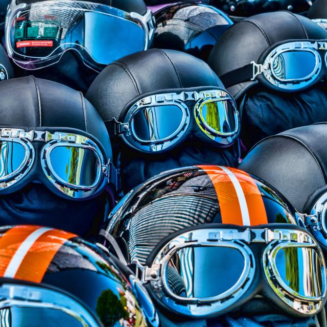"""Helmets"" stock image"
