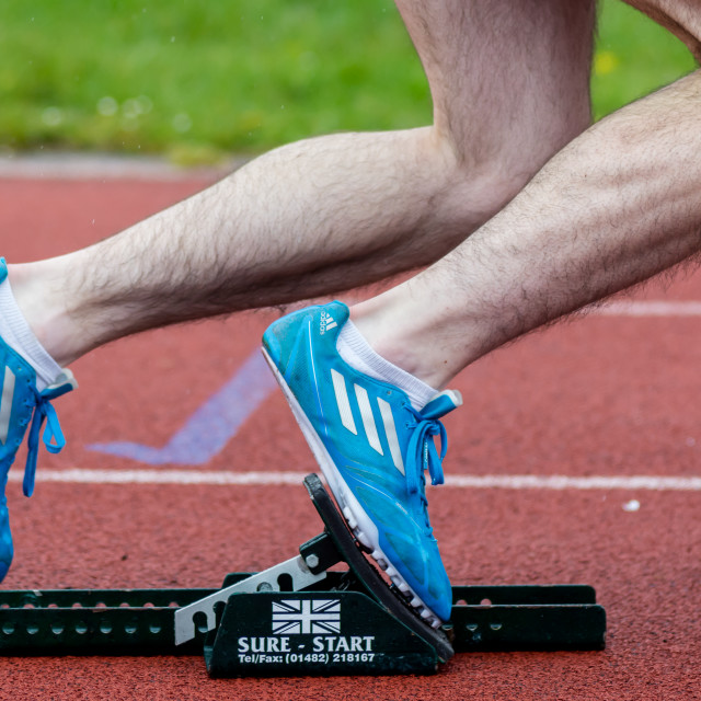 """Starting Blocks"" stock image"