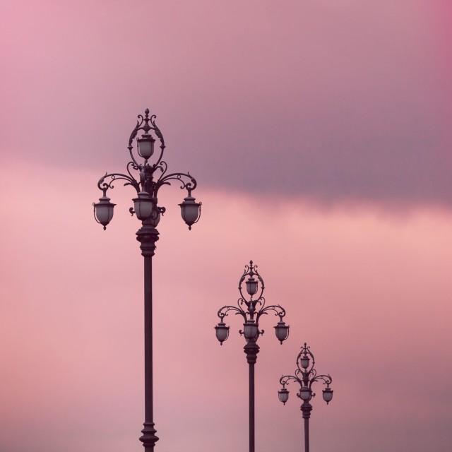 """Street lights"" stock image"