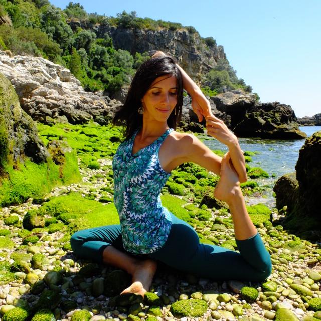 """Bio Yoga IV"" stock image"