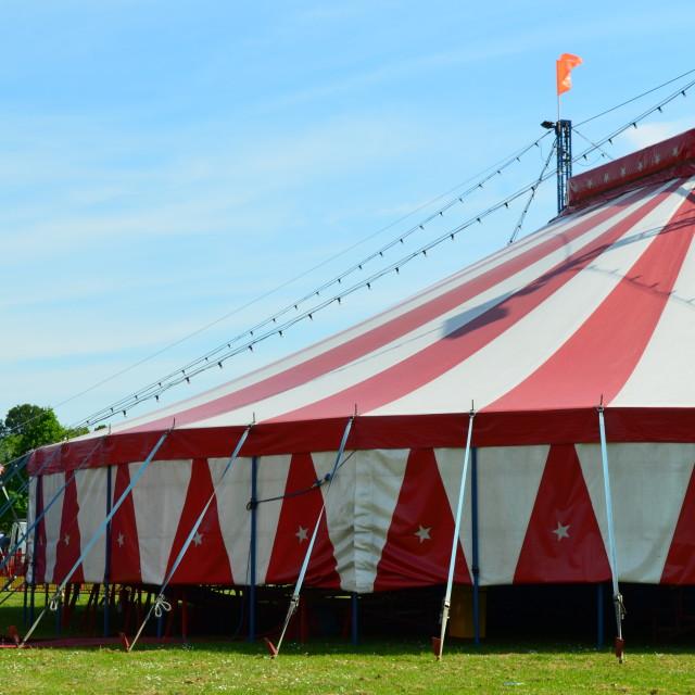 """Circus tent."" stock image"