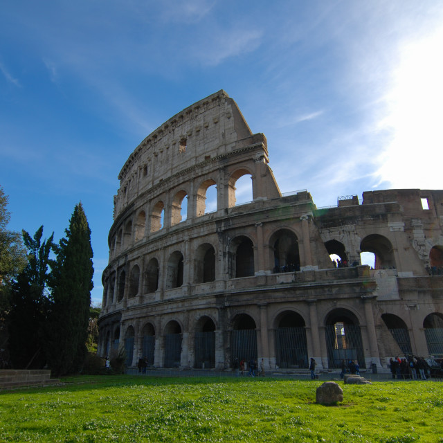 """The Colosseum"" stock image"