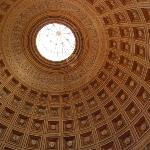 """Vatican Dome"" stock image"