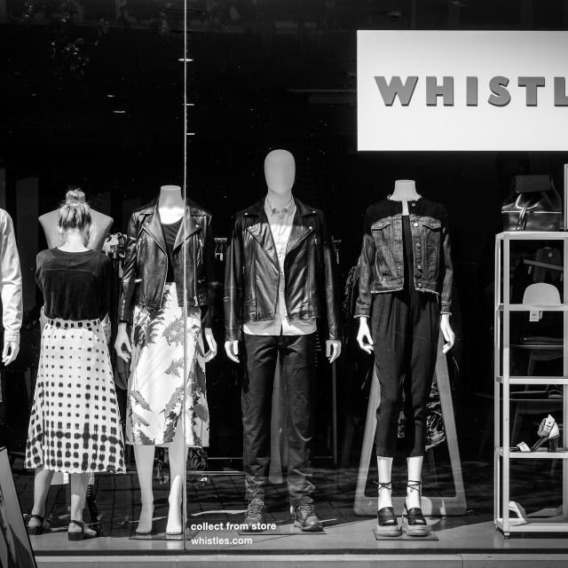 """Window Dressing"" stock image"