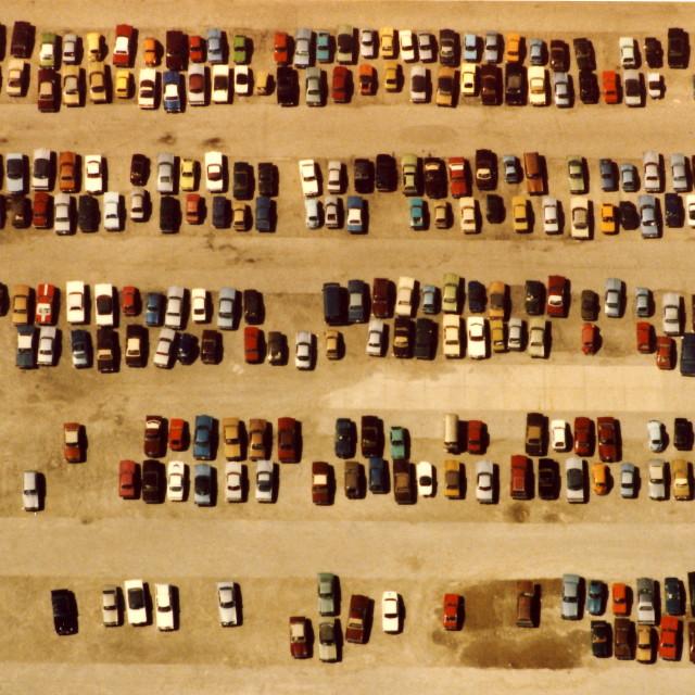 """Parking Lot"" stock image"