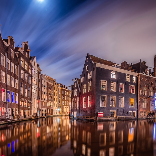 """Amsterdam red light"" stock image"