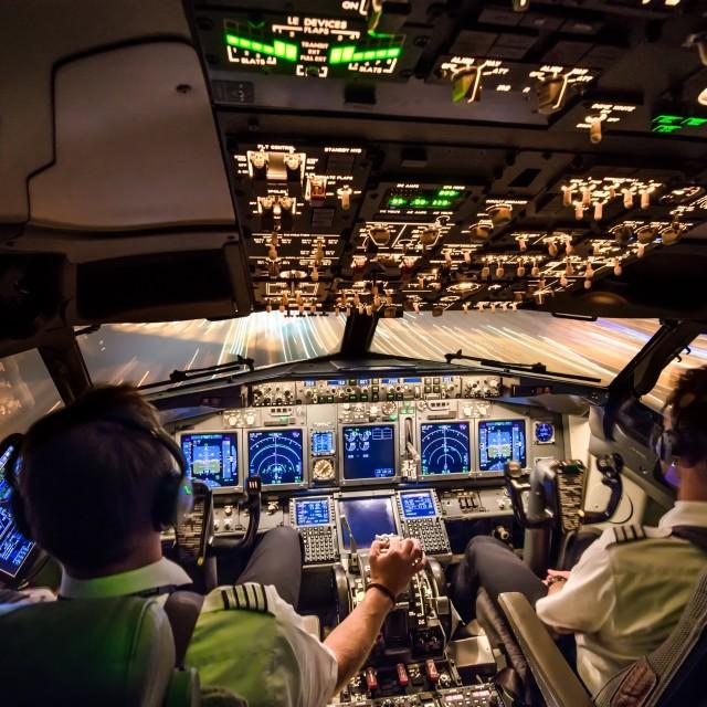 """""""Pilots landing"""" stock image"""