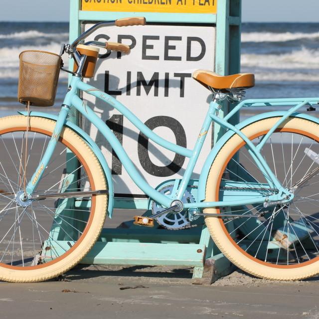 """""""Beachbike"""" stock image"""