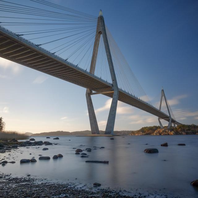"""Uddevalla bridge"" stock image"