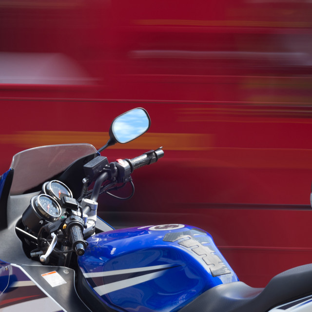 """Motorbike"" stock image"