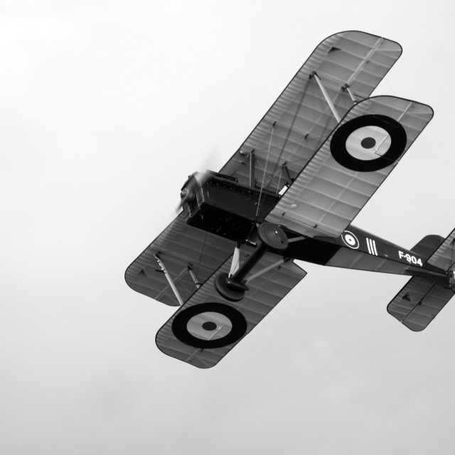 """Royal Aircraft Factory SE5a F904"" stock image"