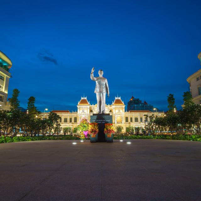 """""""Ho Chi Minh City cityhall with new look 2015"""" stock image"""