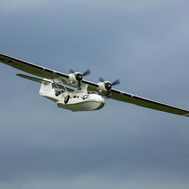 """Catalina Flying Boat"" stock image"