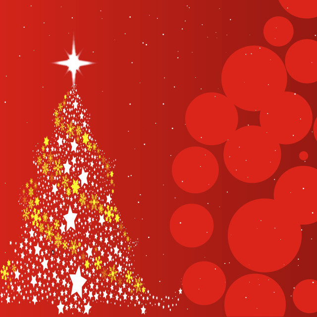 """Red Christmas Background"" stock image"