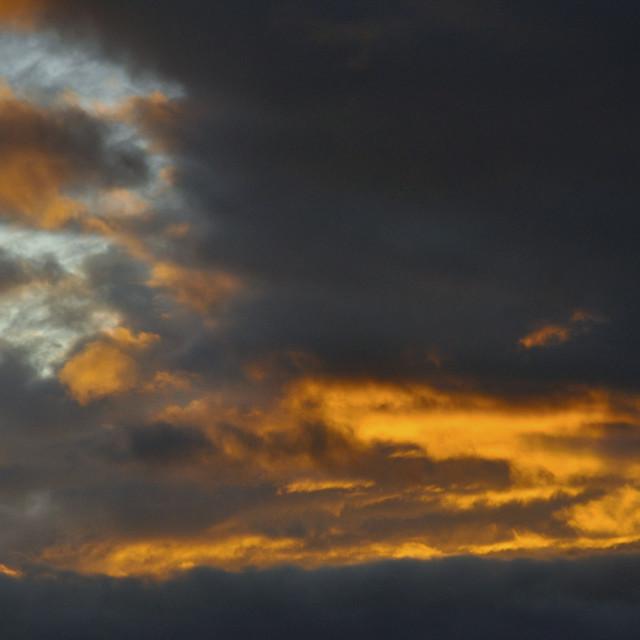 """""""Angry Sky"""" stock image"""