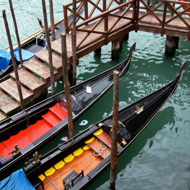 """Venice Gondola"" stock image"