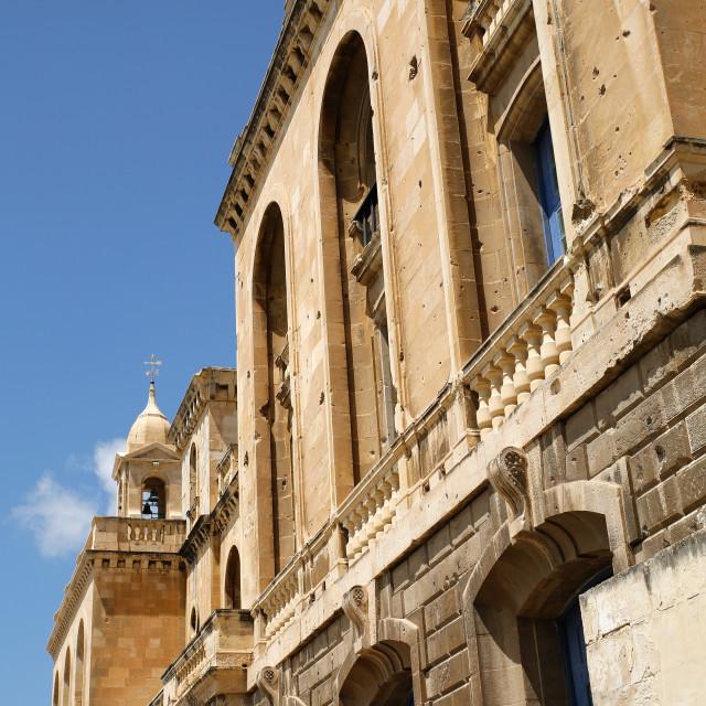 """Historic Architecture in Birgu"" stock image"
