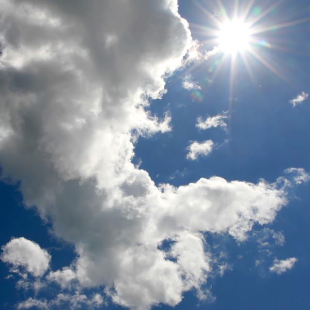"""Blue Sky"" stock image"