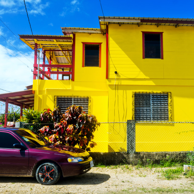 """""""Colorful house"""" stock image"""