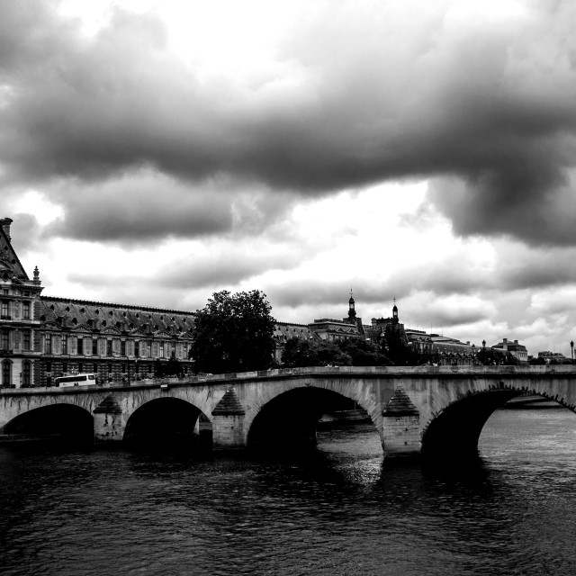 """Seine"" stock image"
