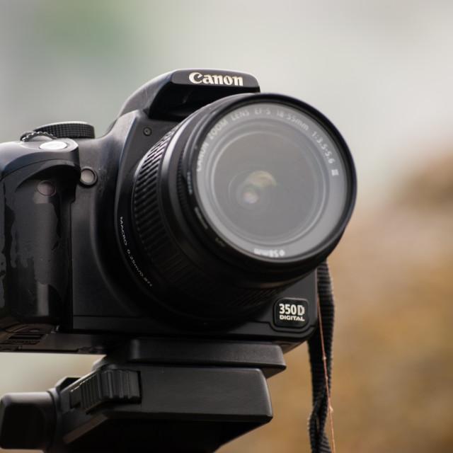 """""""Canon Camera"""" stock image"""