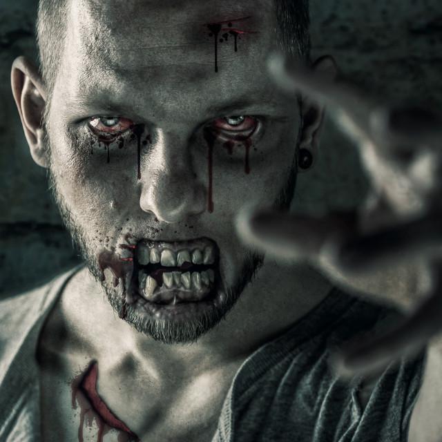 """""""Zombie"""" stock image"""