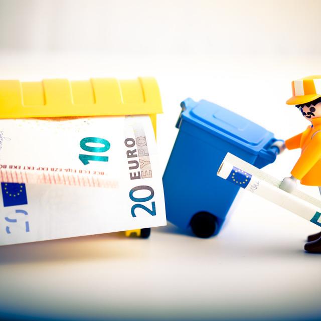 """""""Euro Trash"""" stock image"""