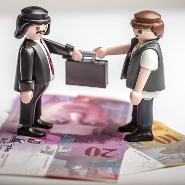 """Mafia Money Exchange"" stock image"