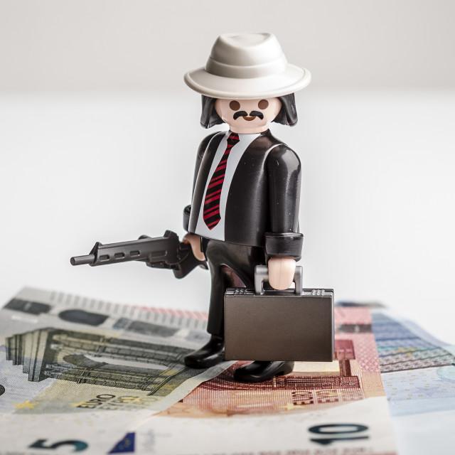 """""""Euro Mafia"""" stock image"""