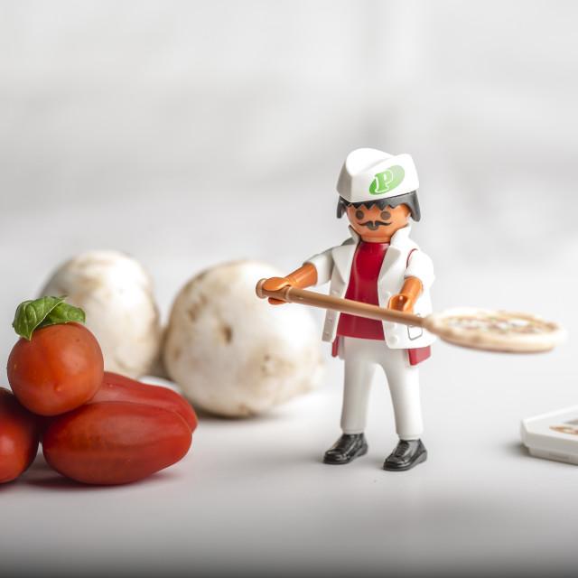 """Pizzaiolo"" stock image"