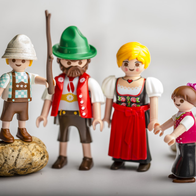 """Alpine Family"" stock image"