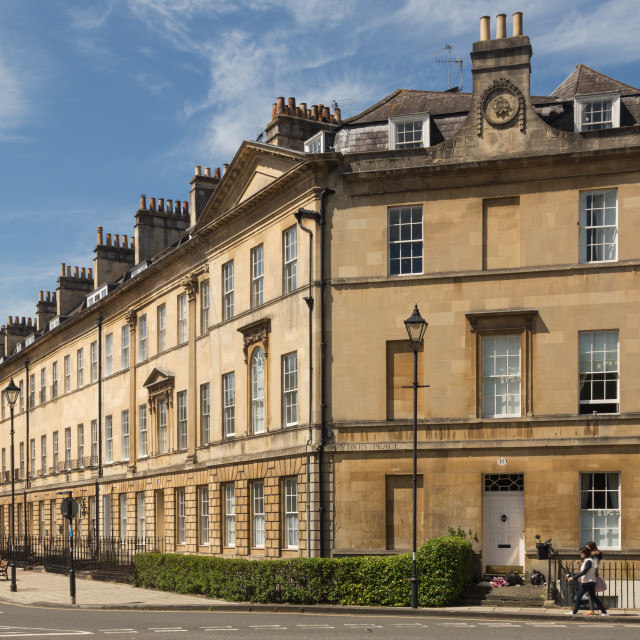 """Bath City - Great Pulteney Street"" stock image"