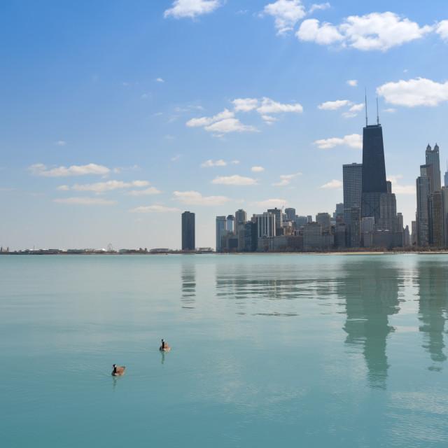 """""""Lake Michigan"""" stock image"""