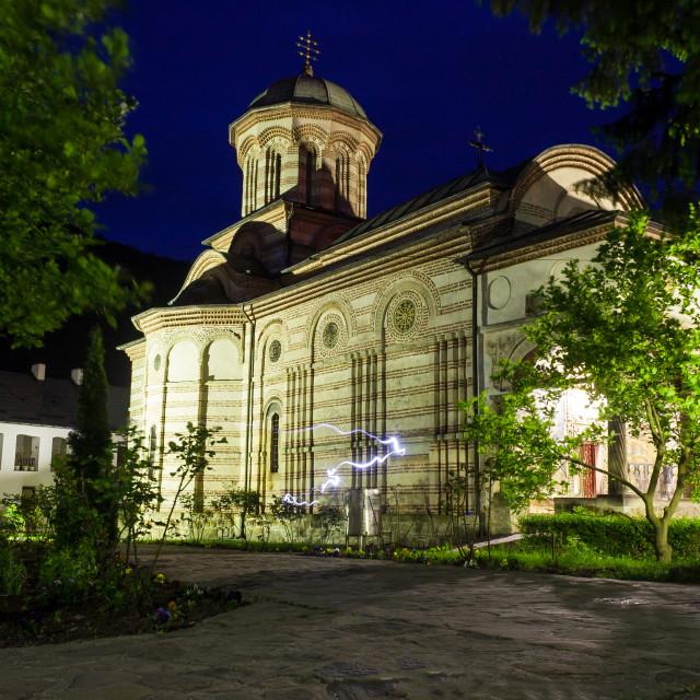 """""""Cozia Monastery"""" stock image"""