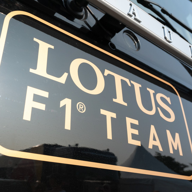 """Lotus F1"" stock image"