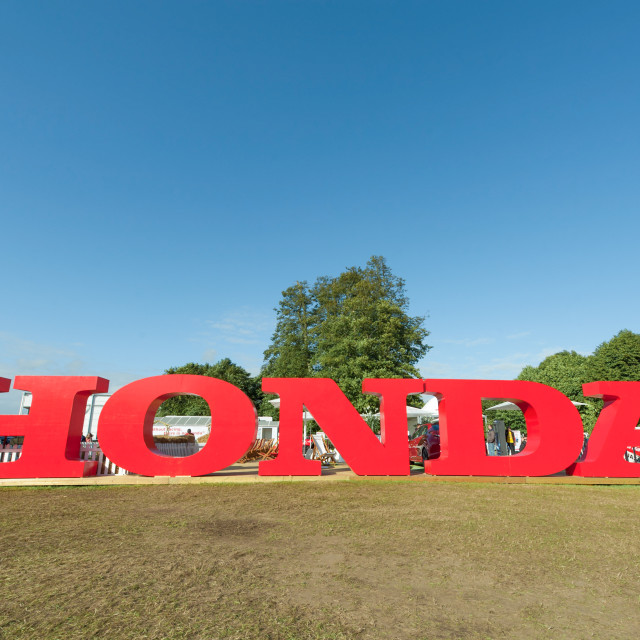 """Honda sign"" stock image"