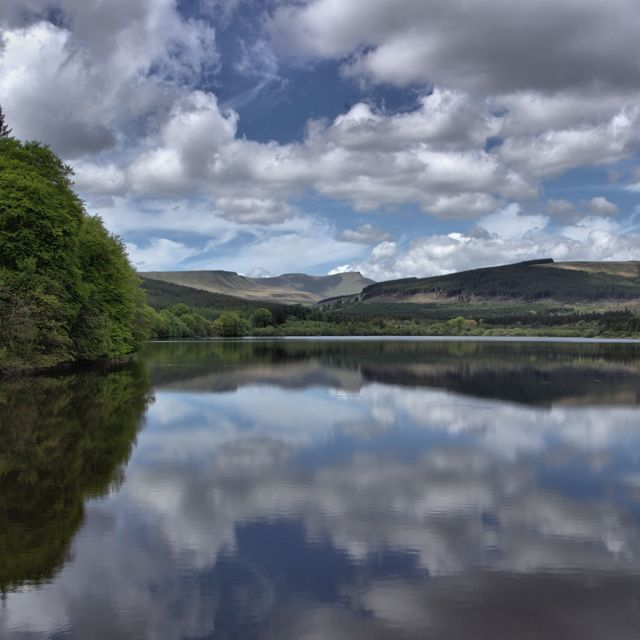 """""""Brecon Beacons National Park"""" stock image"""