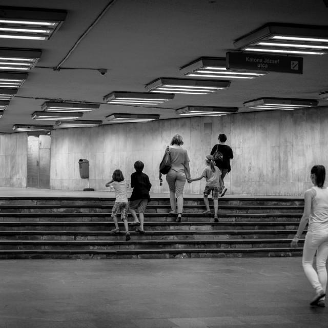 """Budapest Metro"" stock image"