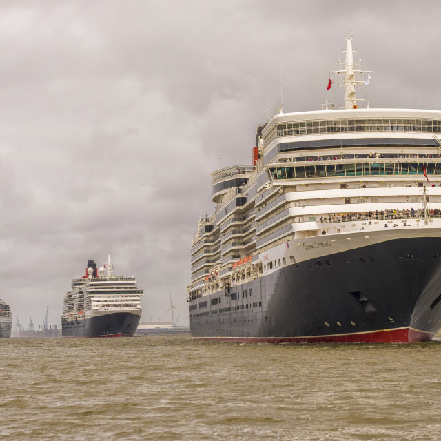 """The Three Queens"" stock image"
