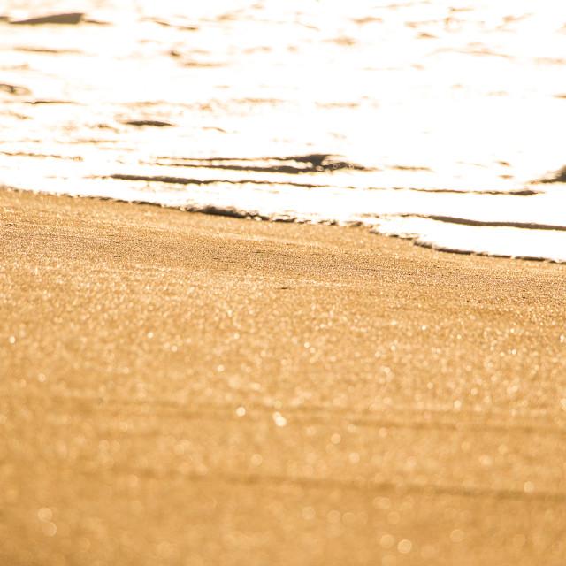 """Bright Sand"" stock image"