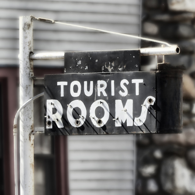 """""""Rooms for Rent"""" stock image"""