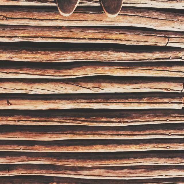 """""""Kayu. Wood."""" stock image"""