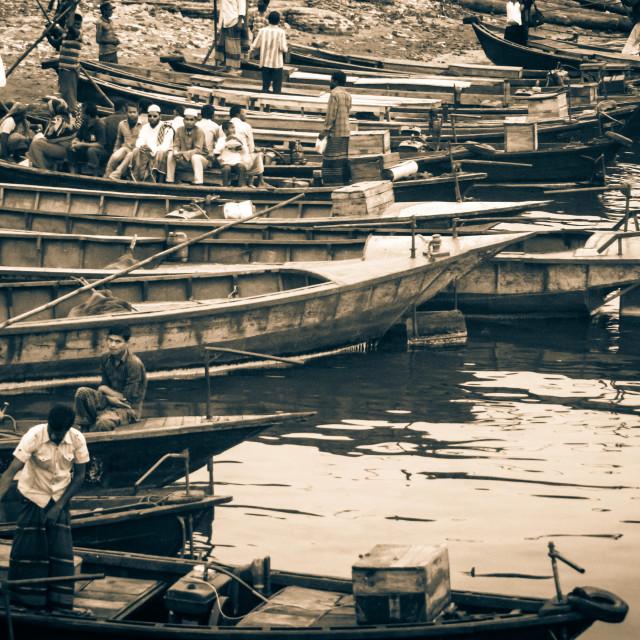 """Boat terminal"" stock image"