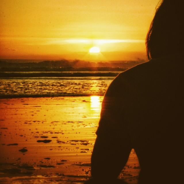 """Sunset Scene"" stock image"
