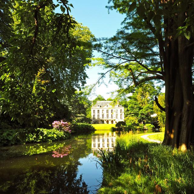 """""""Villa at the Arboretum"""" stock image"""