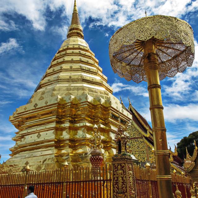 """Wat Doi Suthep"" stock image"