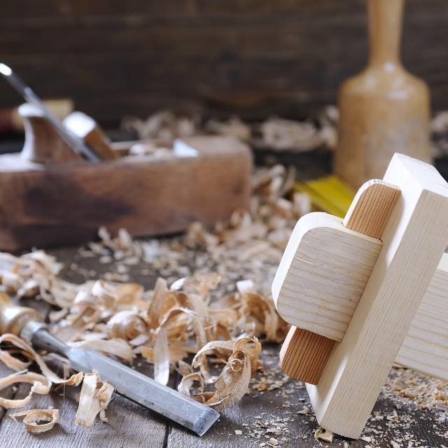"""Carpenter tools."" stock image"