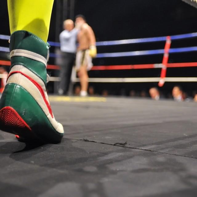 """Boxing."" stock image"