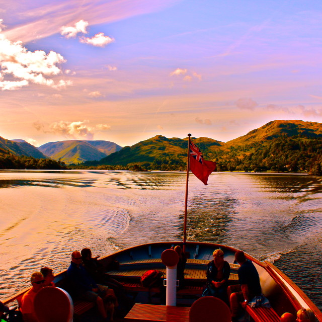 """Ullswater Lake District"" stock image"